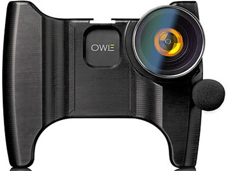 OWLE iPhone camera Owle Bubo turns your iPhone into a road ready camcorder