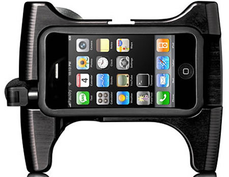 OWLE iPhone camera1 Owle Bubo turns your iPhone into a road ready camcorder