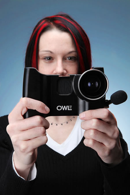 OWLE iPhone camera2 Owle Bubo turns your iPhone into a road ready camcorder