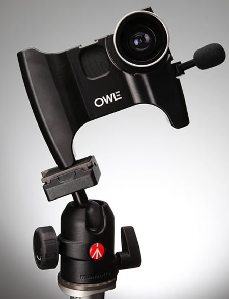 OWLE iPhone camera3 Owle Bubo turns your iPhone into a road ready camcorder