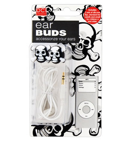 Skull Ear Buds Skull Ear Buds add on to your Halloween look