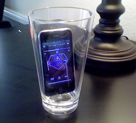 Smart Phone Speaker Smart Phone sound speaker: Blast through a glass