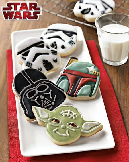 Star Wars Cookie Cutters Star Wars Cookie Cutters make your fave heroes and villains sweet