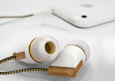 Vestalife Headphones4 Vestalife brings Fashion friendly headphones for women!