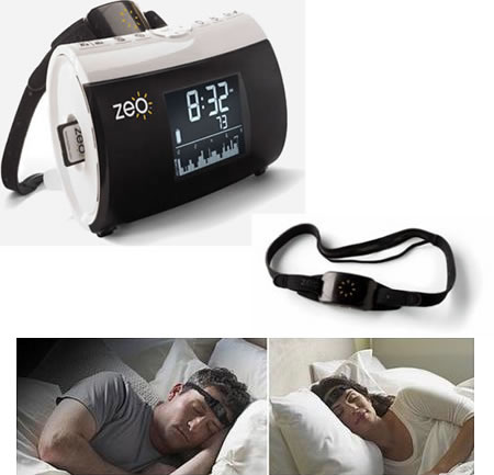 Zeo headband Snooze away your sleep problems with the Zeo Personal Sleep Coach