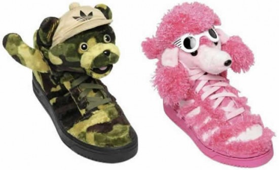 adidas jeremy scott 7 550x335 Adidas x Jeremy Scott Spring/Summer 2013 Collection get Cuteness to your Feet