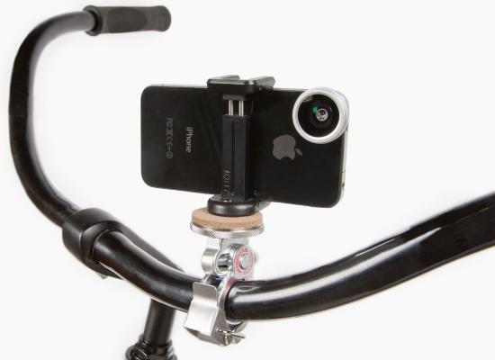 Bikepod - штатив для смартфона на велосипеде