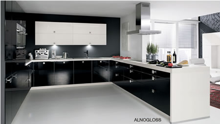 Black and white kitchens project classic elegance gizmoa