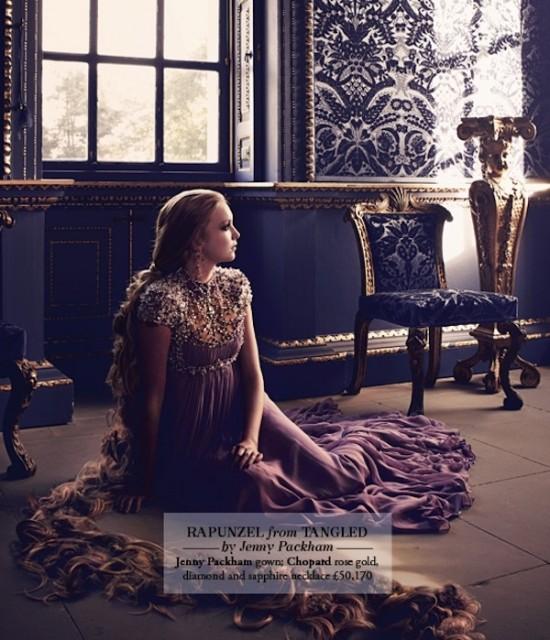 Диснеевские принцессы в современной фотосессии!