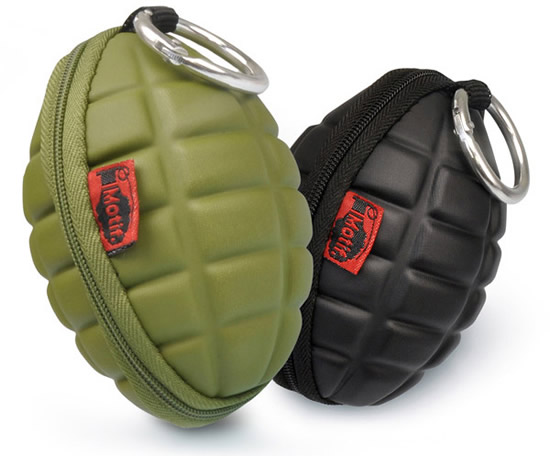 grenade purse 1 Hand Grenades Coin Purse is fashionably explosive!