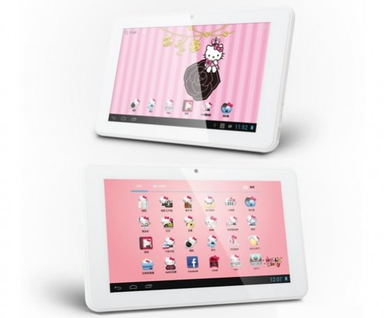 hello kitty tablet 3 550x456 Hello Kitty PC Q7 is a purrfect tablet