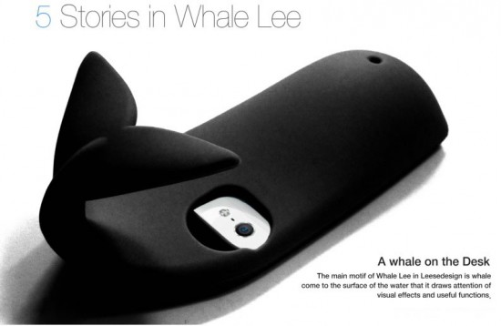 iphone case 550x358 The Amazing Whale Lee iPhone 5 Case