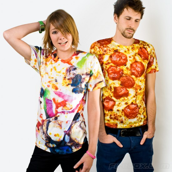 p5698 big 550x550 The Pizza T Shirt: Italian fashion of a different kind