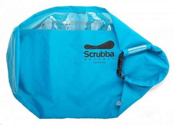 scrubba 4 550x398 The Scrubba Wash Bag: Your portable Laundromat