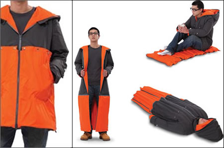 sleeping coat Sleeping Coat concept makes Camps and more a cakewalk!