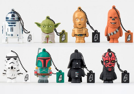 star wars tribe flash drives 550x385 Tribe launches Star Wars Flash Drives