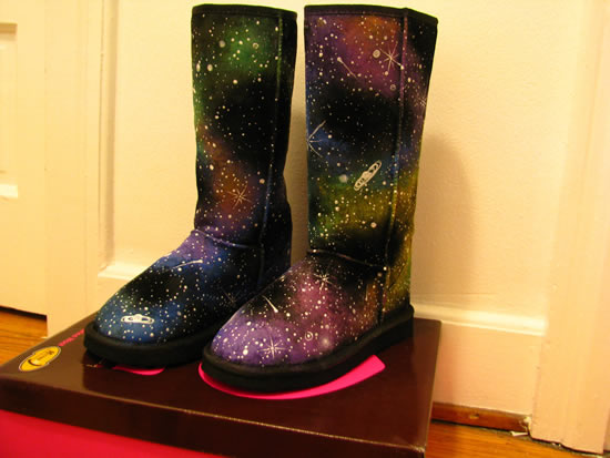galatic winter boots 1 The Galactic Winter Boots: Out of this world fashion
