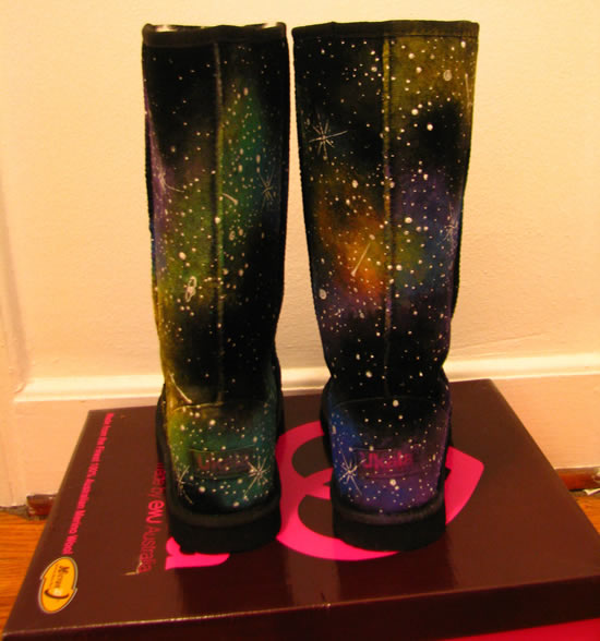 galatic winter boots 3 The Galactic Winter Boots: Out of this world fashion