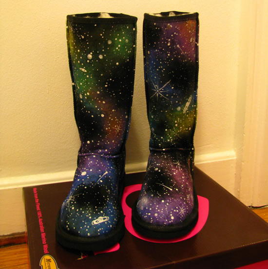 galatic winter boots 4 The Galactic Winter Boots: Out of this world fashion