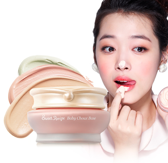 baby choux base Desserts inspired Etude House Sweet Recipe Makeup Collection!