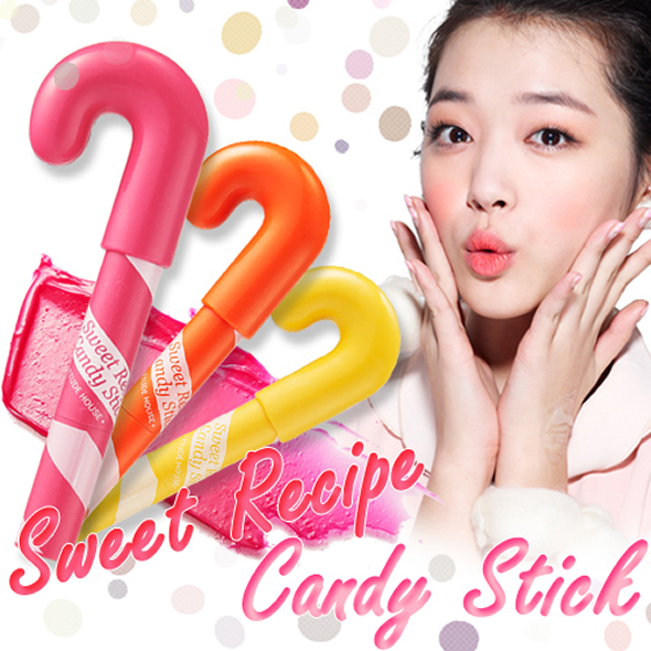 candy stick Desserts inspired Etude House Sweet Recipe Makeup Collection!