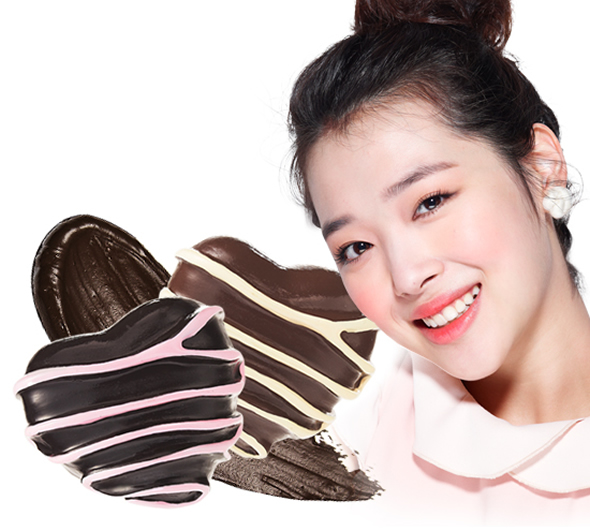 chocolate smudge liner Desserts inspired Etude House Sweet Recipe Makeup Collection!