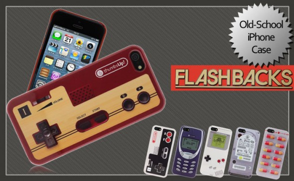 flashbacks case 2 590x364 Old School iPhone 5 Case is Nostalgic