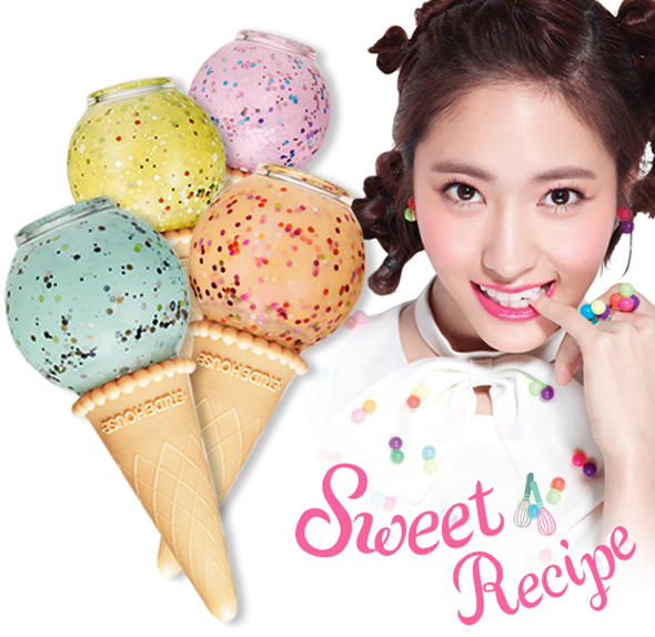 nail polish Desserts inspired Etude House Sweet Recipe Makeup Collection!