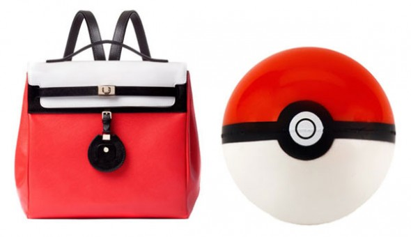 pokemon purse 590x340 Jason Wu's Jourdan Backpack resembles Pokémon!