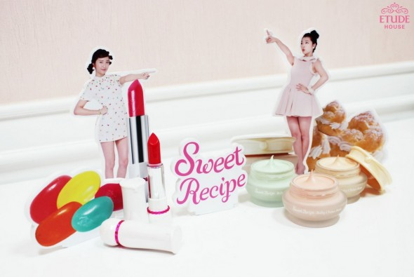 sweet recipe 590x395 Desserts inspired Etude House Sweet Recipe Makeup Collection!