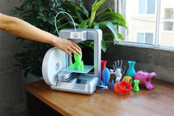 cube 3d home printer 590x393 The Cube 3D Home Printer: Let your imagination run wild