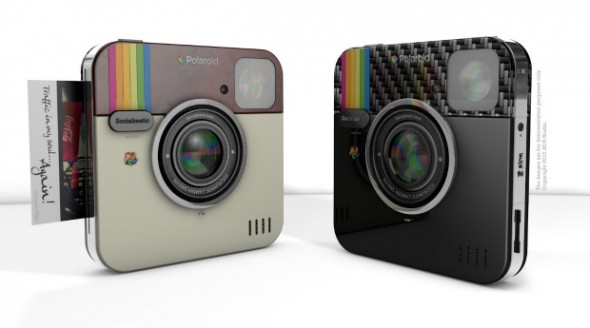 polaroidsocialmatic 590x328 Polaroid Socialmatic branded camera will definitely make us smile or not?