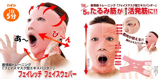 facewaver face stretcher mask 2 Look Beautiful and Young with Facewaver Exercise Mask