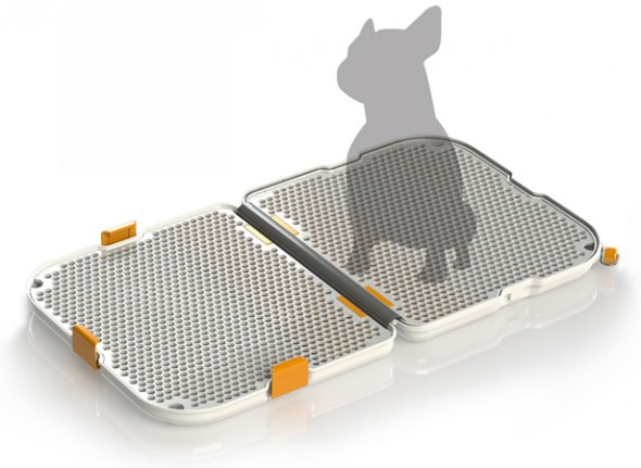 shake 11 590x431 Modko Shake Dog Potty is for modern pets!